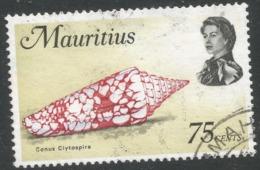 Mauritius. 1969 Sealife. 75c Used. SG 487 - Mauritius (1968-...)