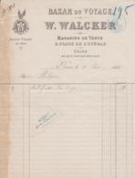 ** W. WALCKER.- PARIS.- 1881.- BAZAR.-** - 1800 – 1899