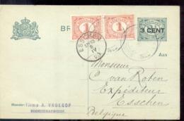 Noordscharwoude - Firma Vroegop - 1920 - Langedijk Amsterdam - Poststempels/ Marcofilie