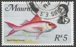 Mauritius. 1969 Sealife. 5r Used. SG 453 - Maurice (1968-...)