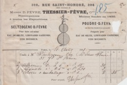** THESSIER - FEVRE.- PARIS.- 1881.-** - 1800 – 1899