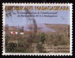 Madagascar 2003 Bureaux JICA Japan Organisation Japon N° 1840 Oblitéré Used - Madagascar (1960-...)