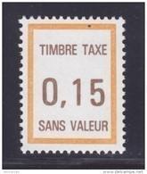 FRANCE FICTIF TAXE N° FT31 ** MNH Timbre Neuf Sans Charnière, TB - Phantomausgaben