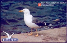 Used Phone Cards Russia Ekaterinburg - Big Seagull 200 ED. - Russland