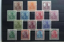 Deutsches Reich 140-153 ** Postfrisch #TL327 - Deutschland