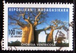 Madagascar 2002 Baobab Chorisia Ventricosa / Arbres / Plantes Tropicales / Tropical Plant N° 1832 Oblitéré Used - Madagascar (1960-...)