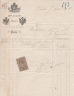 ** M.me VIROT.- PARIS.- 1881.- MODES.-** - 1800 – 1899