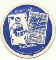 Bierdeckel, Franken Bräu Neundorf-Mitwitz - Bierdeckel