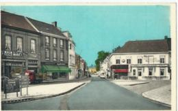 Waregem - Markt En Oscar Verschuerenstraat - Café In Den Arend - Uitg. L. Vermeersch - Artcolor - Waregem