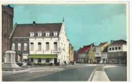 Waregem - Markt En Keukeldamstraat - Hôtel Des Flandres - Uitg. L. Vermeersch - Artcolor - Waregem