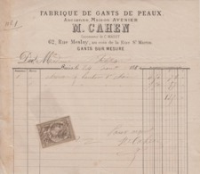 ** M. CAHEN.- PARIS.- 1881.- ** - 1800 – 1899