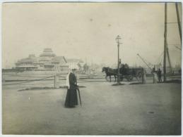 Tirage Argentique Circa 1910. Saint-Malo. Le Casino. Bretagne. - Lieux