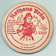 Bierdeckel, Rothaus Bräu - Bierdeckel