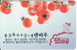 SOUTH KOREA - Tomatoes(W2000), CN : 94070964, 07/94, Used - Corée Du Sud