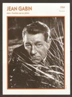 PORTRAIT DE STAR 1954 FRANCE - ACTEUR JEAN GABIN Dans TOUCHEZ PAS Au GRISBI - ACTOR CINEMA FILM PHOTO - Fotos