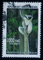 Madagascar 2002 Lémurien Lémur Catta / Animal / Mammifères / N° 1830 Oblitéré Used - Madagascar (1960-...)