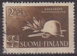 Secours D'hiver - FINLANDE - Casque, épée - N° 269 - 1943 - Finland