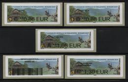 5 Atms, Nabanco, CC 0.86/ DD 0.88/ AA 1.05/ IP1.30€,  Théatre Du Peuple, Escalade, 67éme A.G. Philapostel, Bussang 2019. - 2010-... Geïllustreerde Frankeervignetten