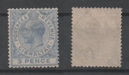 Gibraltar, MNH, 1921, Michel 81b - Gibilterra