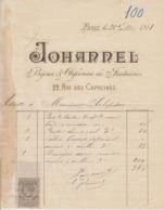 ** JOHANNEL.- PARIS.- 1881.-** - 1800 – 1899