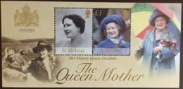 St Helena 2002 Queen Mother Minisheet MNH - St. Helena