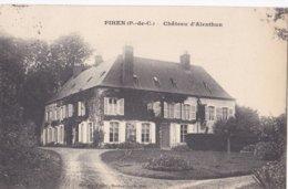 Carte 1910 PIHEN / CHATEAU D'ALENTHUN - France