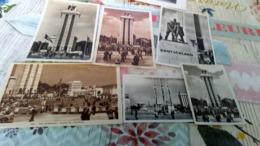 4 CPA Et Deux. Photos Pavillon Allemand Exposition 1937 - 1939-45