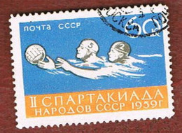 URSS - SG 2357.2358  - 1959  SOVIET SPARTAKIAD      -  USED° - Usados