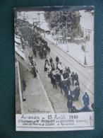 Photo Carte Postale Avignon Obsèques De M. Pourquery De Boisserin Gaston Ancien Maire Et Député 1920 - Avignon