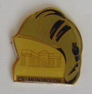 1 Pin's Sapeurs Pompiers De MONTBOZON (HAUTE SAONE - 70) - Brandweerman