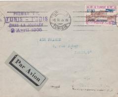 TUNISIE - Marcophilie Avant Indépendance - Collection De 18 Enveloppes, Cp Et 1 Entier - 36 Scans Recto & Verso - Sammlungen (ohne Album)