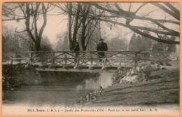 37 / TOURS - Jardin Des Prébendes D'Oë - Pont (animé) - Tours