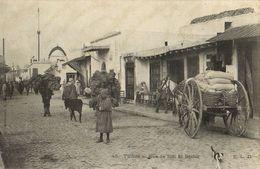 CPA TUNISIE Rues Rue De Sidi El-Bechir (32500) - Tunisia