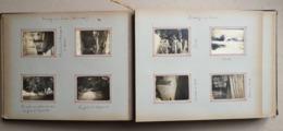 Album Photo Complet 50 Pages Militaire 1906 Tunisie Corse Algérie Lyautey Giraud Général D'Amade - Guerra, Militares