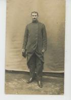 YERRES - MILITARIA - GUERRE 1914-18 - Belle Carte Photo Portrait Militaire (nommé) Datée 1915 - Photo MULARD à YERRES - Yerres