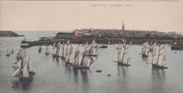 SAINT-MALO    -  Carte Panoramique   -  Les Régates    -  Voir Description - Saint Malo