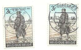 1968 - Belgio 1445   X  2    Giornata Francobollo      C3856 - Giornata Del Francobollo