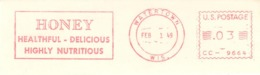 USA - Meter - Honey - Stamps