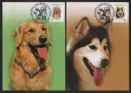 Taiwan(Formosa)- Carte Maximum Card- Pets(4V) 2005 - Gatti