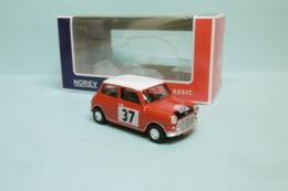 Norev - MINI COOPER AUSTIN Rallye Monte Carlo 1964 Neuf NBO 3 Inches 1/64 - Norev