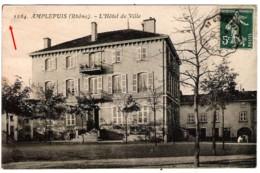69 RHONE L'Hôtel De Ville D'AMPLEPUIS - Amplepuis