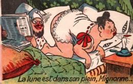 CPA - Fantaisie ILLUSTREE - HUMOUR - Scène GRIVOISE - Edition G.H. - Humour