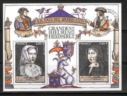 France 2019.Bloc Les Grandes Heures De L'histoire De France .Cachet Rond .Gomme D'Origine - Souvenir Blocks & Sheetlets