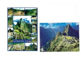 Lot 2 Cpm - PEROU PERU -  Machu Picchu - CUSCO - Multivues Train - Perù