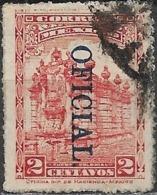 MEXICO 1923 Official - Fountain & Aqueduct - 2c - Red FU - Mexique