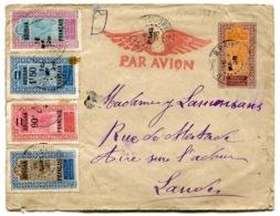 RC 14486 SOUDAN FR 1928 ENTIER PAR AVION DE BAMAKO POUR LA FRANCE ( VOIR DESCRIPTION ) - Sudan (1894-1902)