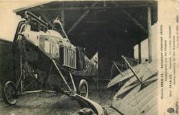 AEROPLANE ALLEMAND Abattu Par Les Russes - 1914-1918: 1ère Guerre