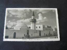 TRIPOLI _ANCIENT BEAUTIFUL NEW  POSTCARD OF MOSQUE OF GIAMA MISRAN _CARTOLINA NUOVA MOSCHEA - Libia