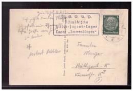 Dt- Reich (008526) Propaganda AK Immendingen Schwäbisches Hitler Jugend- Lager, Lager Immendingen, Gelaufen 1938 - Allemagne