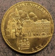4014 Vz Sint Niklaas S.K.K. - Kz 1382-1982 Reinaert In Waasland 50 Reinaert - Jetons De Communes